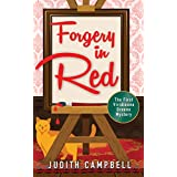 Forgery in Red (The Viridienne Greene Mysteries Book 1)