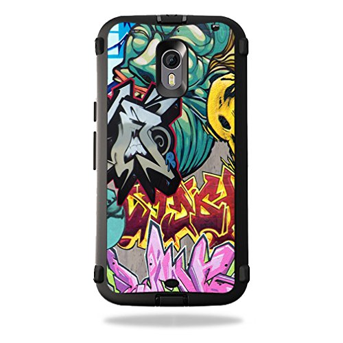Skin Decal Wrap for OtterBox Defender Moto X Pure Edition Graffiti Wild Styles
