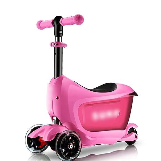 JianMeiHome Kick Scooter Scooter para niños de 2-6 años ...