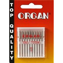 ORGAN Sewing Machine needles UNIVERSAL 130/705 H, NM 90/14, 10 pieces