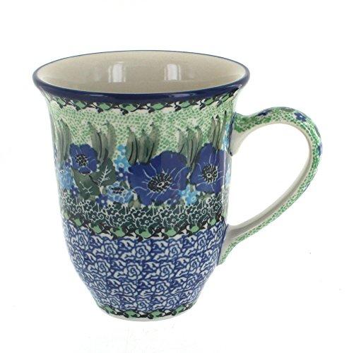 Polish Pottery Sapphire Fields Large Coffee (Field Mug)
