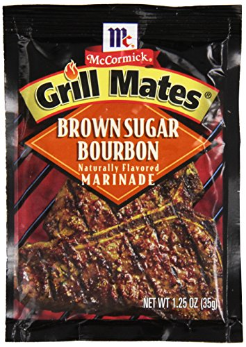 McCormick Grill Mates Brown Sugar Bourbon Marinade, 1.25 oz (Pack of 12) ()