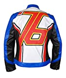 F&H Men's Overwatch Soldier 76 John ''Jack'' Morrison Jacket 4XL Multi