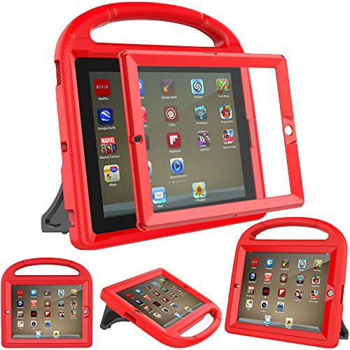 Aggressive New Shockproof Kids Child Handle Foam Case Cover Stand For Apple For Ipad 2 3 4 Computer & Office Tablet Accessories