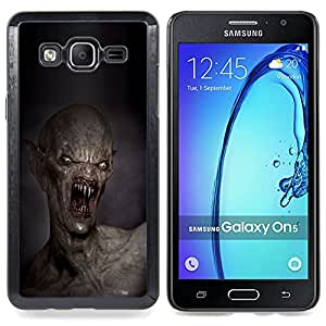 - Demon Teeth Kill Death Monster Creepy - - Monedero pared Design Premium cuero del tir???¡¯???€????€???????????