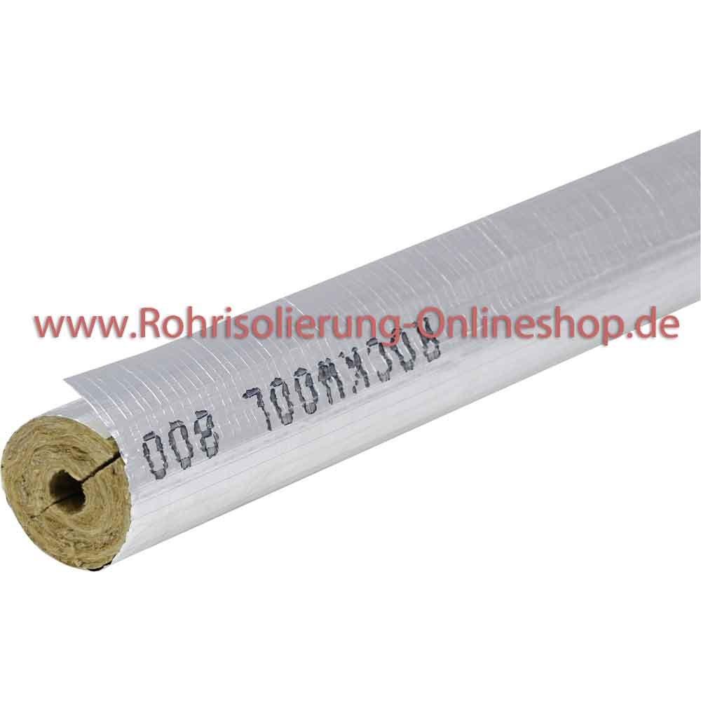 Trendig Steinwolle Rohrisolierung Rockwool 800 alukaschiert 28 x 30 mm  SW24