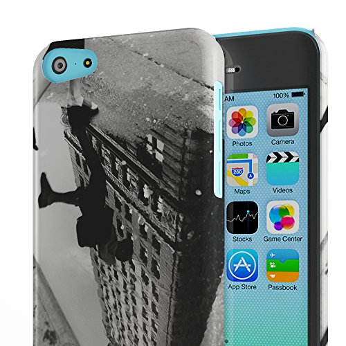 Koveru Back Cover Case for Apple iPhone 5C - The Shadow of Building