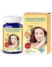 MIRI Feminine Essence - pre & post menopause support Pueraria Mirifica extract estrogen free (80 veg caps) Relief hot flush night sweats mood swing tiredness Soy phytoestrogen
