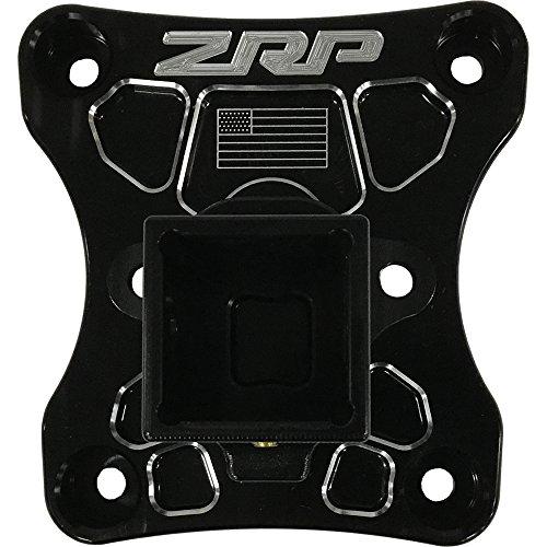 ZRP Billet Radius Rod Plate w/Receiver Hitch Can-Am Maverick X3 - Black