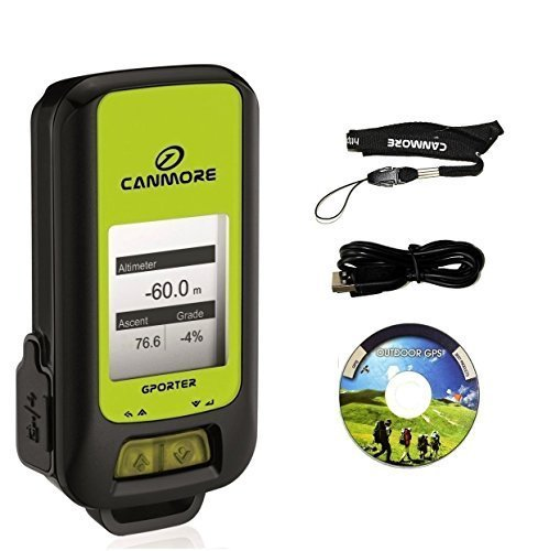 Canmore G-PORTER GP-102+ Multifunction GPS Device/ Data Logger