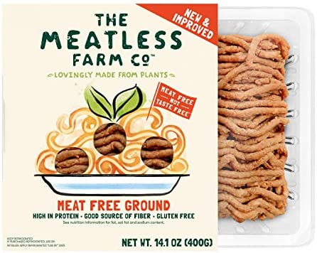 The Meatless Farm Co., Plant Based Ground Meat, 14.1 Ounce