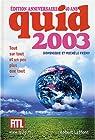 Quid, édition 2003 par Frémy