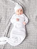 Colored Organics Baby Organic Cotton Knotted Hat