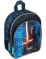 Undercover SWMK7601 rugzak met voorvak, Star Wars, ca. 31 x 25 x 10 cm Blauw