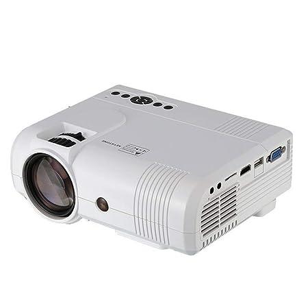 LUOJIE Proyector, HD Mini Mini Proyector portátil Pequeño ...