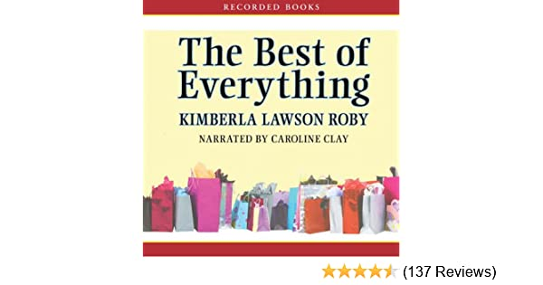 Amazon The Best Of Everything Audible Audio Edition Kimberla