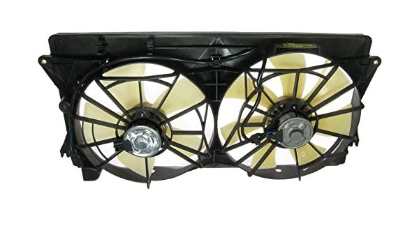 Dual Radiator Cooling Fan for 00-05 Toyota MR2 Celica