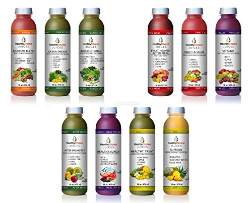 5-DAY RENEW & REPLENISH BUNDLE by Healthy Choice Juices