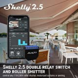 Shelly 2.5Double Relay Switch and Roller Shutter