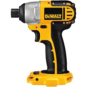 DEWALT DC825B Bare-Tool 1/4-Inch 18-Volt Cordless Impact Driver, Tool Only, No Battery