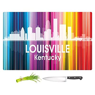 Cutting Boards from DiaNoche Designs by Angelina Vick - City II Louisville Kentucky Unique Kitchen Slicing Dicing Bar Artistic Decorative