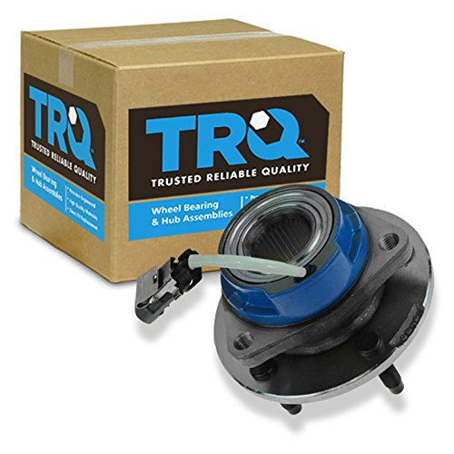 TRQ Driver or Passenger Front Rear Wheel Hub and Bearing Assembly w/ABS Sensor ()