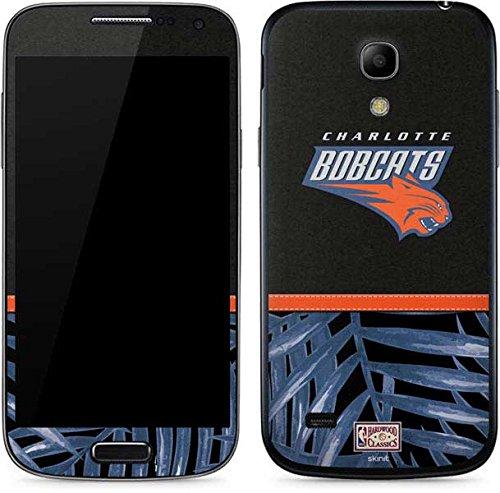 NBA Charlotte Hornets Galaxy S4 Mini Skin - Charlotte Bobcats Retro Palms Vinyl Decal Skin For Your Galaxy S4 Mini