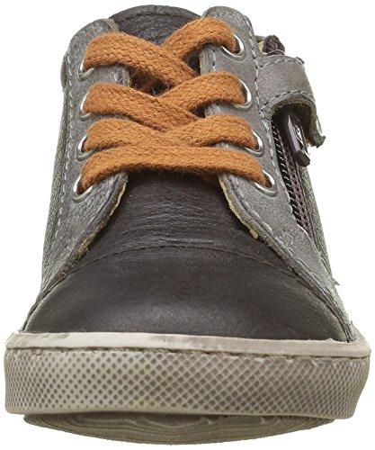 GBB Laz - Zapatillas de deporte Niños Marrón - Marron (14 Vte Marron/Gris Dpf/2706)