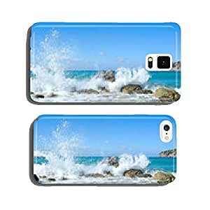 Waves of the sea. Mirabellno Bay cell phone cover case iPhone6 Plus