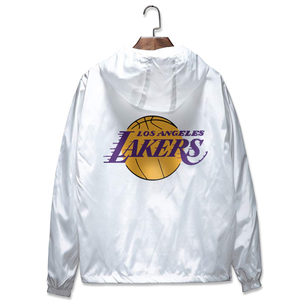 HK-DX Angeles Lakers Sudadera Chaqueta De Entrenamiento,5XL ...