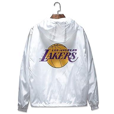 HK-DX Angeles Lakers Sudadera Chaqueta De Entrenamiento,5XL: Amazon.es: Ropa y accesorios