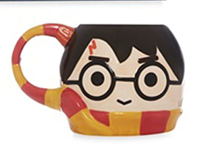 Taza Harry Potter 3D Bufanda Griffindor Hogwarts