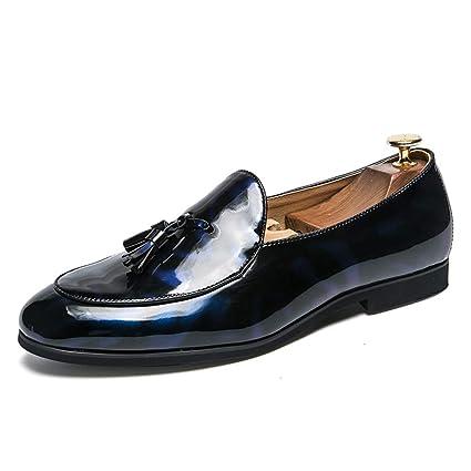 Fang-shoes, 2018 Zapatos Hombre, Zapatos de Oxford para Hombre, Zapatos Formales