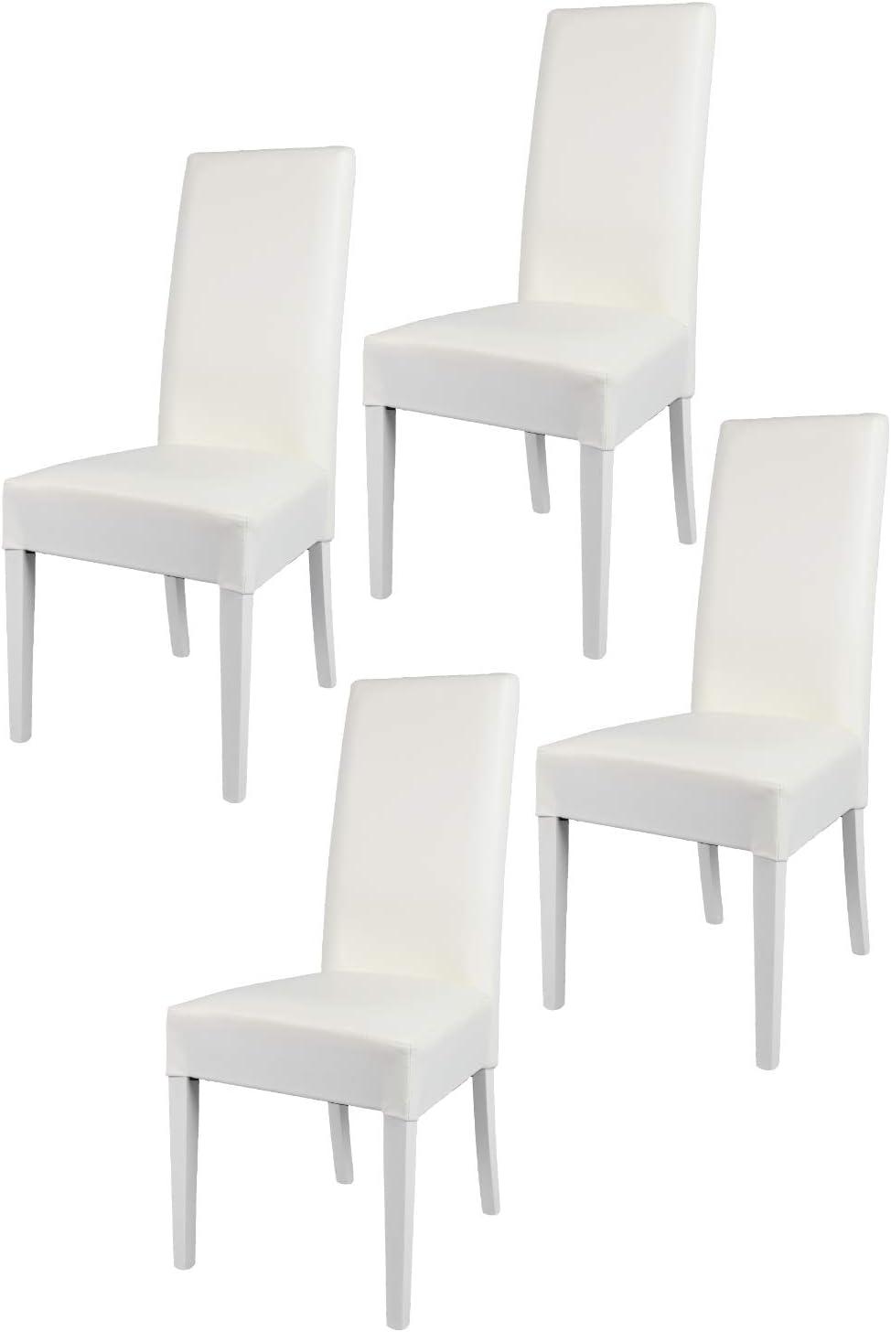 Tommychairs - Set 4 chaises Luisa pour Cuisine