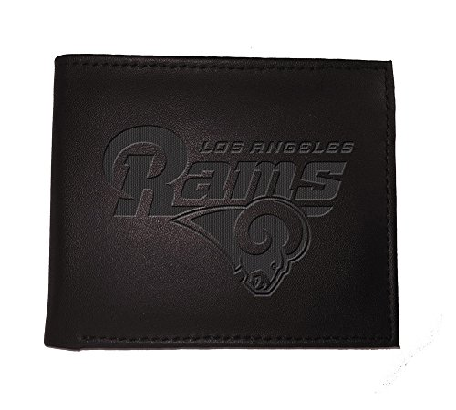 Team Sports America NFL Los Angeles Rams 7WLTB3828BWallet, Bi-Fold, La Rams, Black (Rams Wallet)