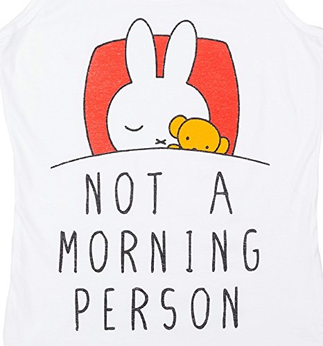 Womens Miffy Not a Morning Person Vest