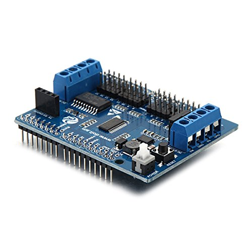 Channel motor servo expansion board for