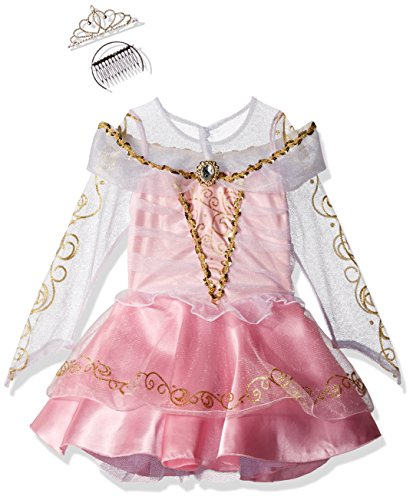 [California Costumes Sleeping Beauty Deluxe Toddler Costume, 4-6] (Toddler And Girls Aurora Princess Costumes)