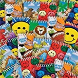 """3"""" Spiral Notebook Assortment, Party Favors, 72 pack"""