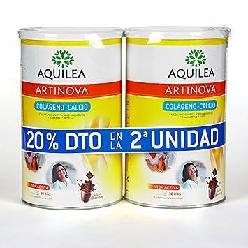 DUPLO Aquilea Artinova Colágeno + Calcio polvo 495 gr Sabor Chocolate: Amazon.es: Salud y cuidado personal