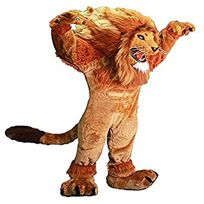 Lion Mascot Costume Character Adult Sz 100% Real Picture Longteng Cartoon