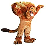 Lion Mascot Costume Real Picture Langteng Cartoon