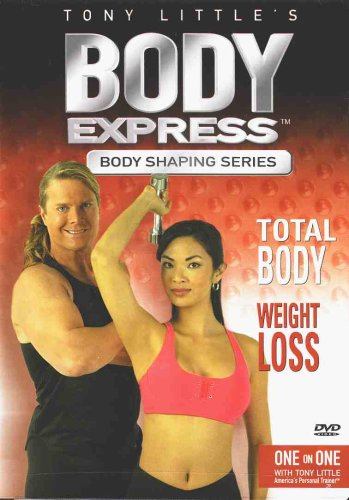 Freestyle Little Gazelle Dvd Tony - Tony Little's Body Express: Total Body - Weight Loss