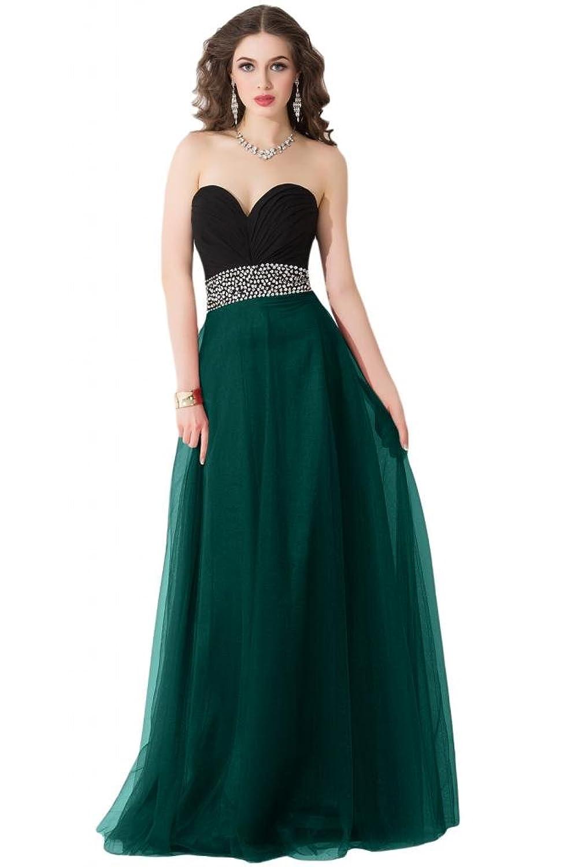 Sunvary Modest Chiffon Floor Length Women Spring Evening Prom Dresses