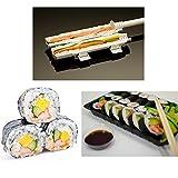 VIPASNAM-Chef Sushi Roll Maker Making Kit Mold Sushezi Rice Roller Mould Kitchen DIY Set