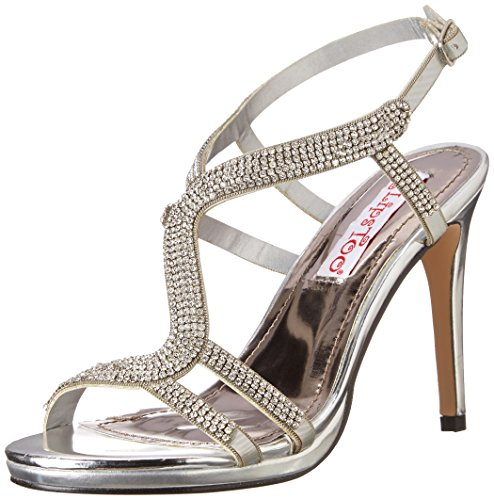 2 Too Lips Too Women Sandal Silver Dress Anita vZRUqwxv4