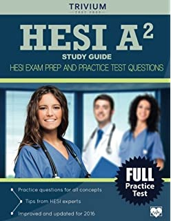 HESI A2 Study Guide: Prep Book & Practice Test Questions for the ...