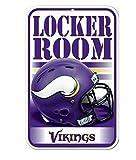 WinCraft NFL Minnesota Vikings 11'' x 17'' Locker Room Sign