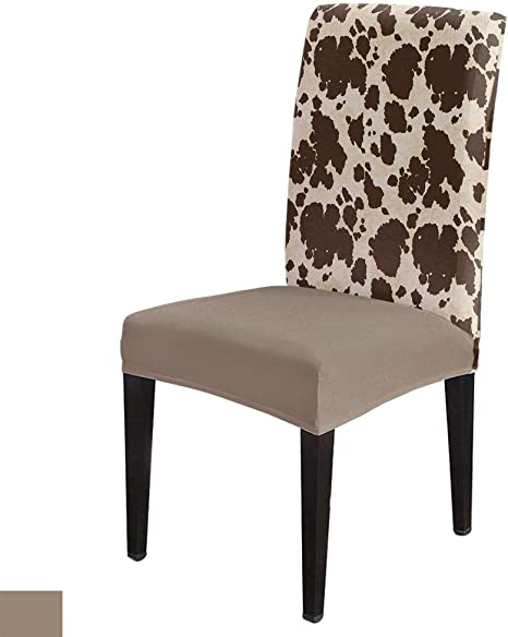 Dining Chair Seat Covers Slip Cover Banquet Protective Stretch Removable Covers