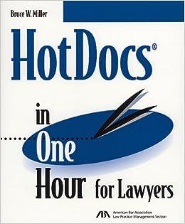 ?TOP? Hotdocs In One Hour For Lawyers. conejo Omron formado aeronave montajes Socket estan